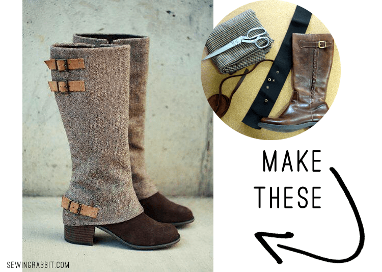 MAKE THESE: Boot Spats DIY