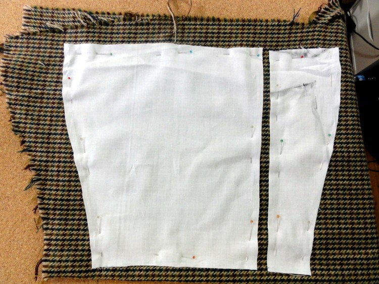 Boot Spats DIY Cut Fabric EcoArmoire