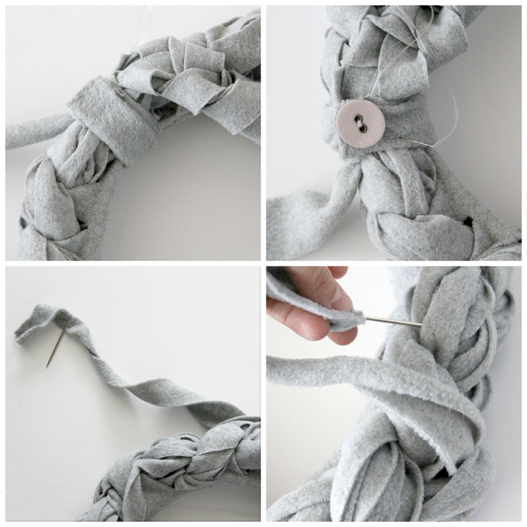 Braided Fleece Scarf Instructions 5