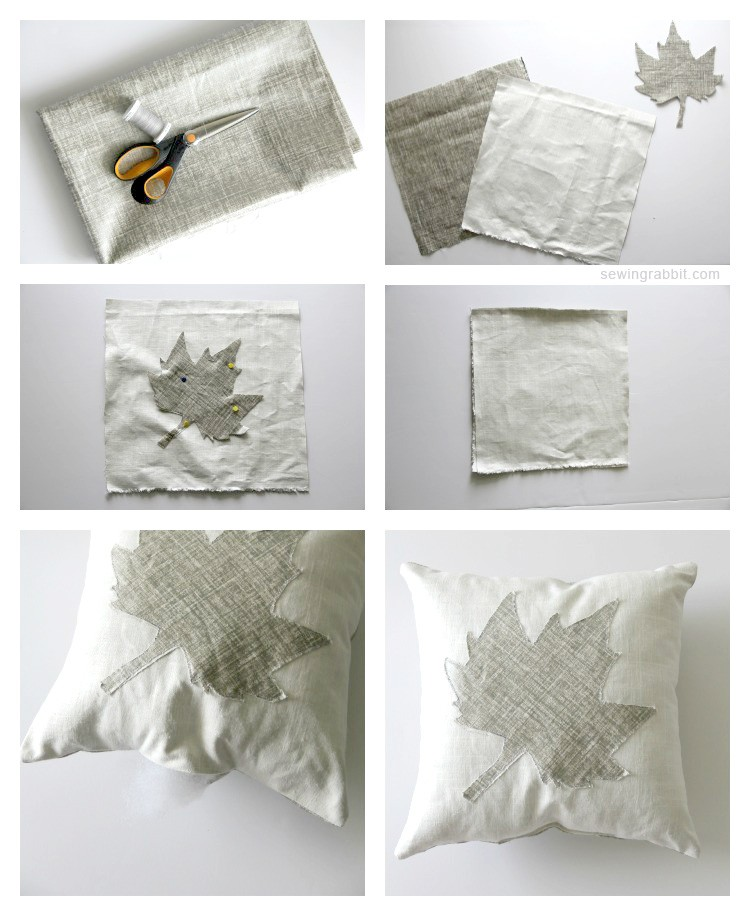 Leaf Pillow DIY