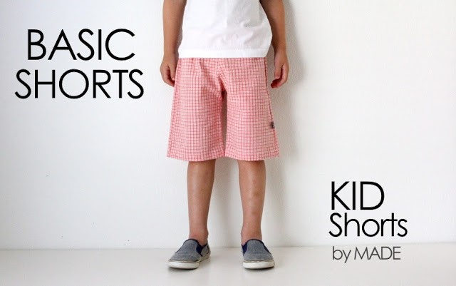 Basic Shorts with Free Pattern, MADE