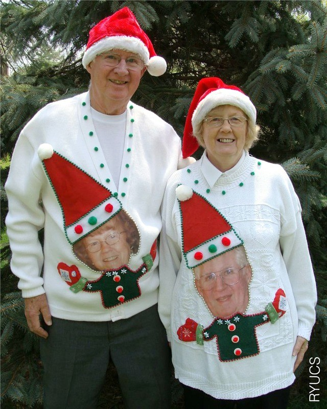 10 best ugly christmas sweater diys - The Best Ugly Christmas Sweaters