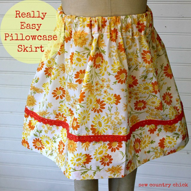 Pillowcase Skirt, Sew Country Chick