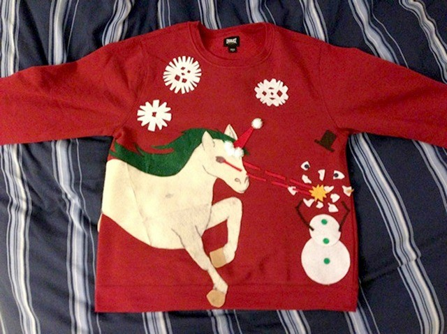 10 best diy ugly christmas sweaters - Homemade Ugly Christmas Sweater
