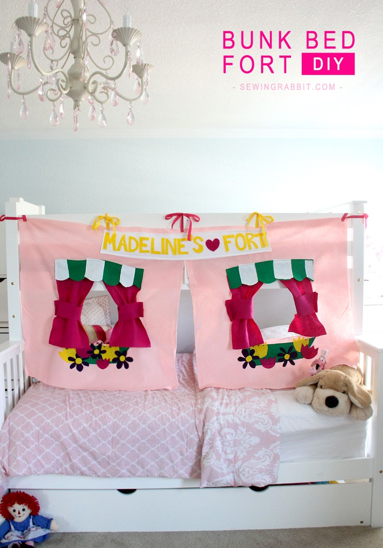 Bunk Bed Fort Diy The Sewing Rabbit
