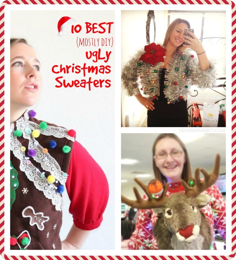 10 Best Ugly Christmas Sweater DIYs