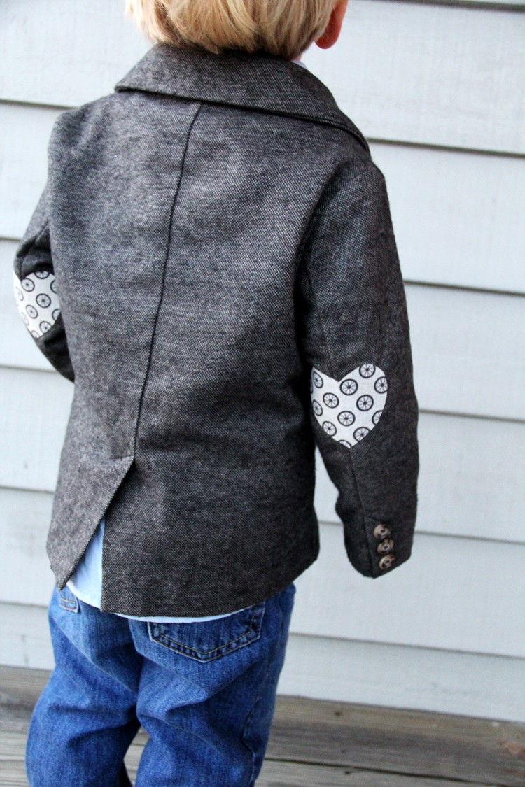 Heart Elbow Patches DIY