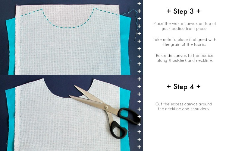 MAKE THIS: Cross Stitch Peter Pan Collar DIY.  Use a round collar shirt pattern that you already have, or update a shirt in your closet!