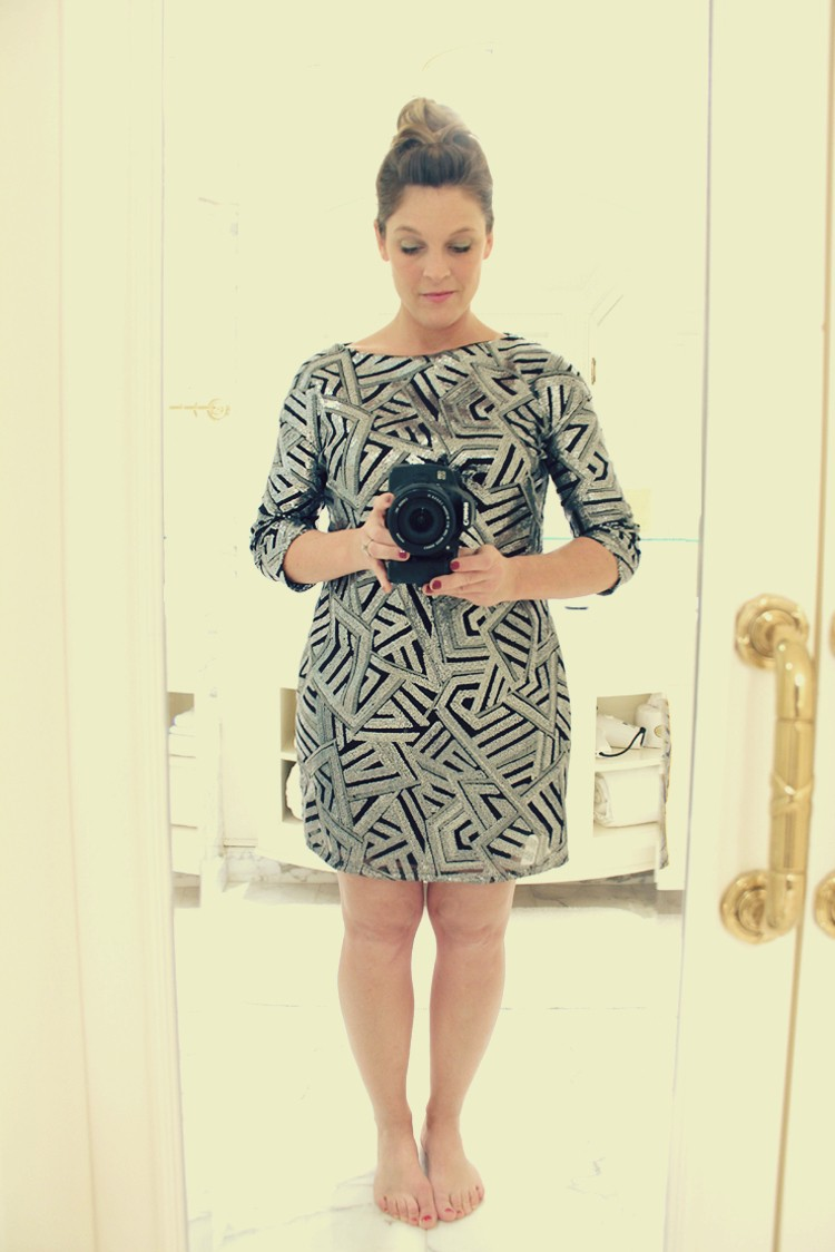 Make this Look: Sequin Casual Lady Dress DIY
