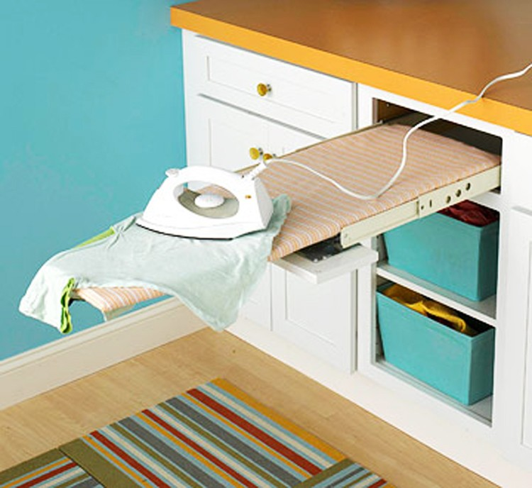 Pull Out Drawer Ironing Board - 11 Cool Ironing Board Ideas