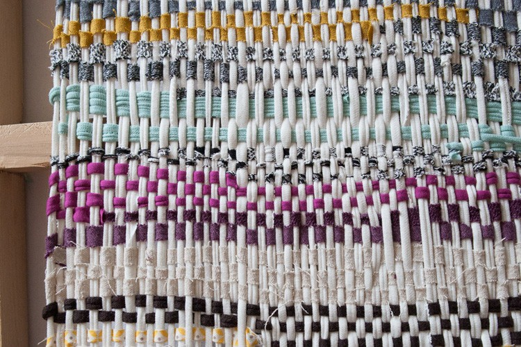 Fabric Scrap Wall Hanging-25
