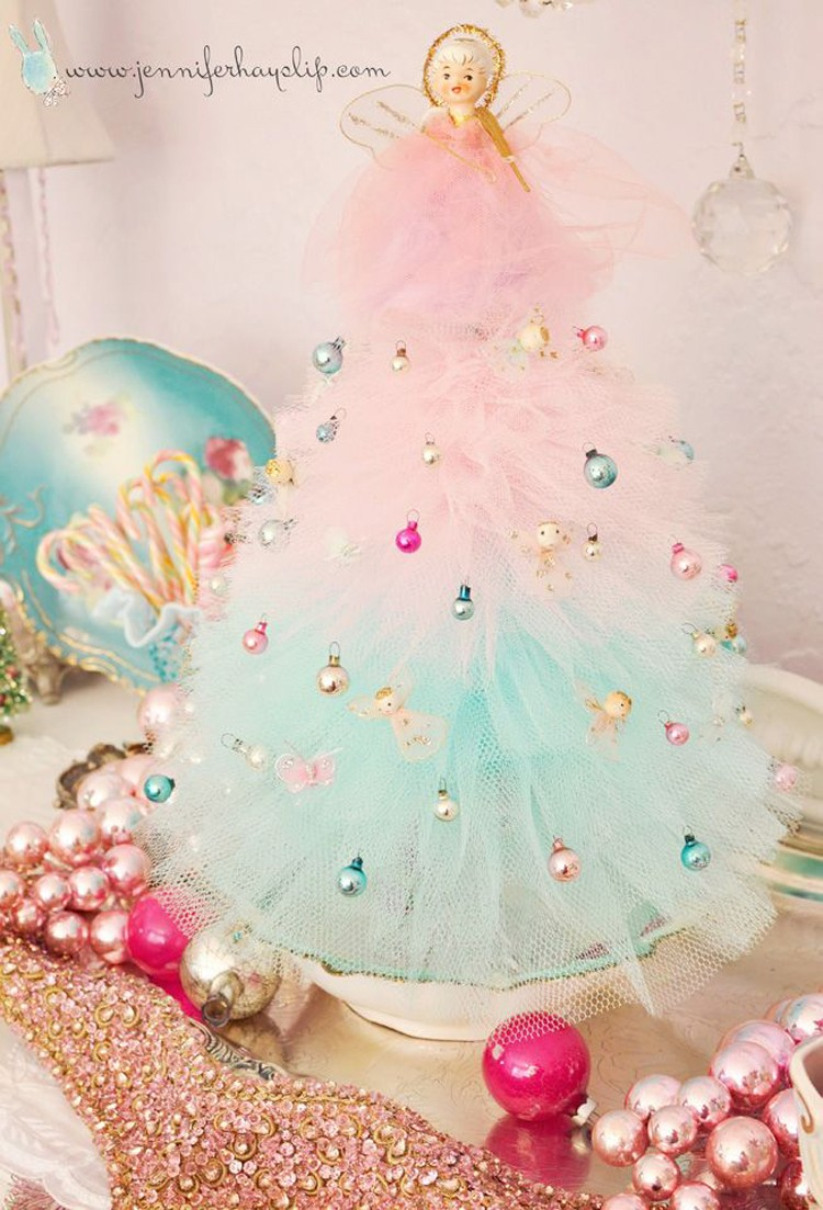 Vintage Christmas Decor, 21 things to do with Tulle besides tutus