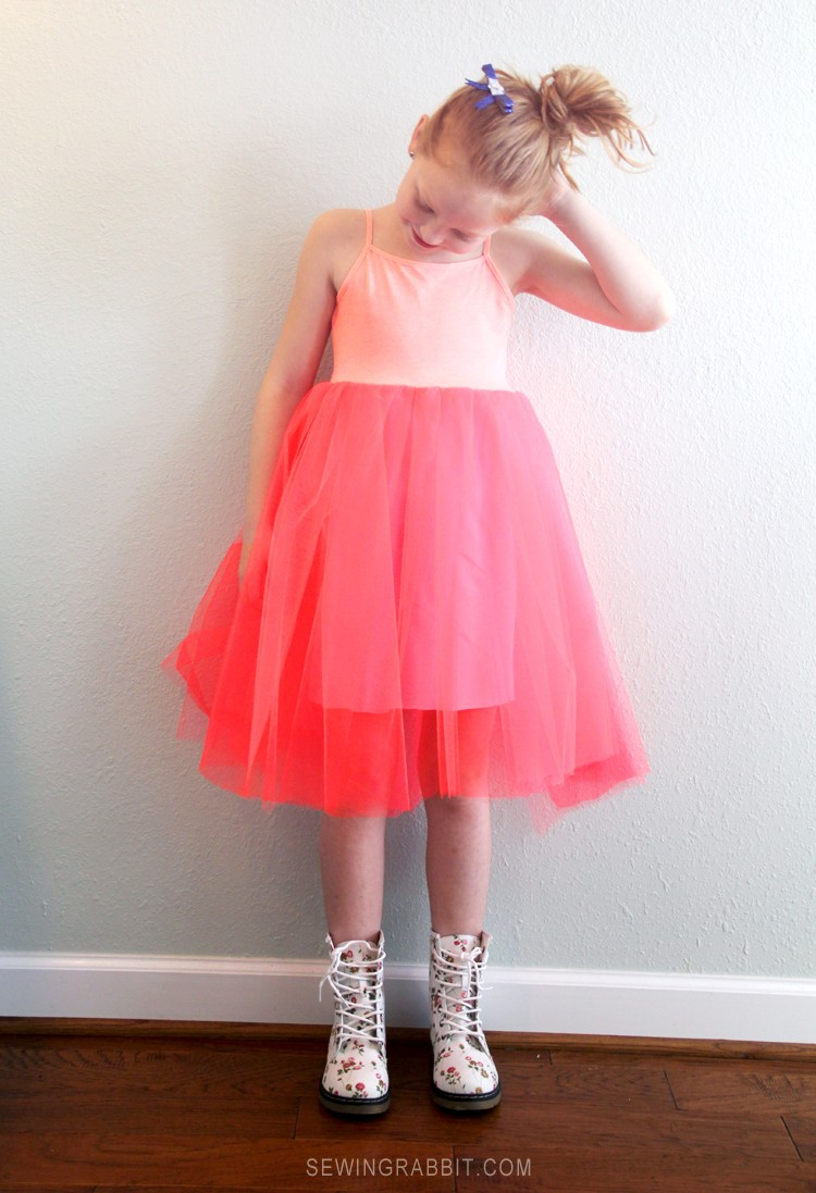 Ballerina Tutu Dress DIY
