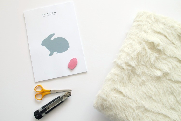 Rabbit Rug DIY