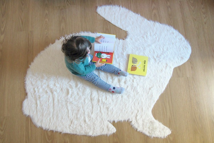 No Sew Rabbit Rug Diy The Sewing Rabbit