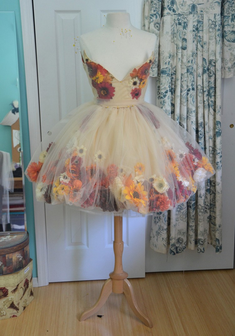 Fall Fairy Dress, 21 Things to do with Tulle besides tutus