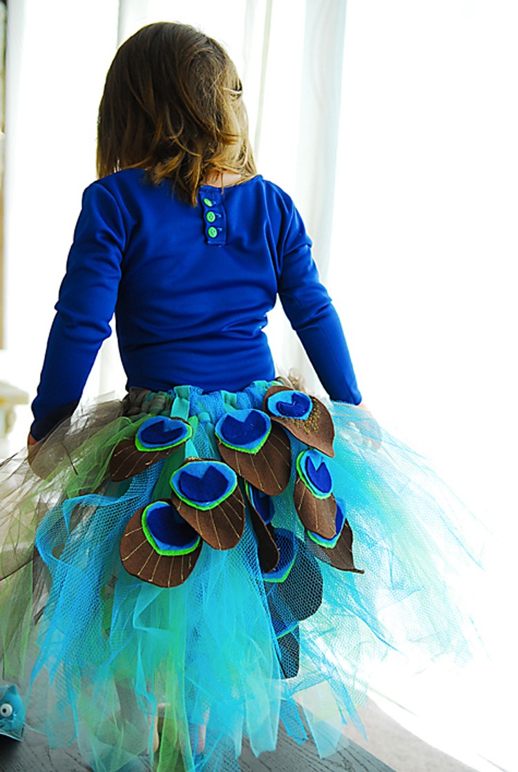 Peacock Costume, 21 things to do with Tulle besides tutus