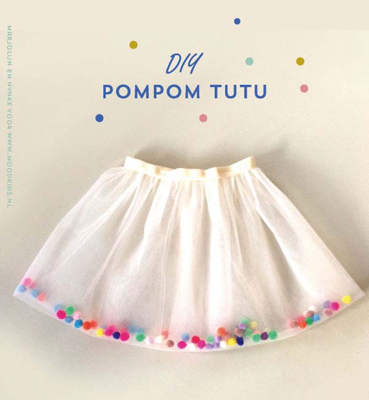 Pom Pom Tutu Skirt, 21 things to do with Tulle besides tutus