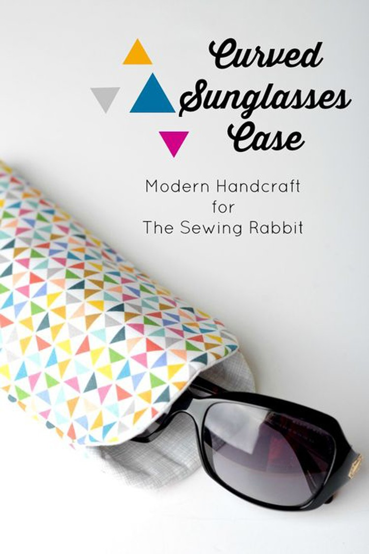 Sunglass Case DIY --- 24 DIYs to help you get ready for Summer Vacation.
