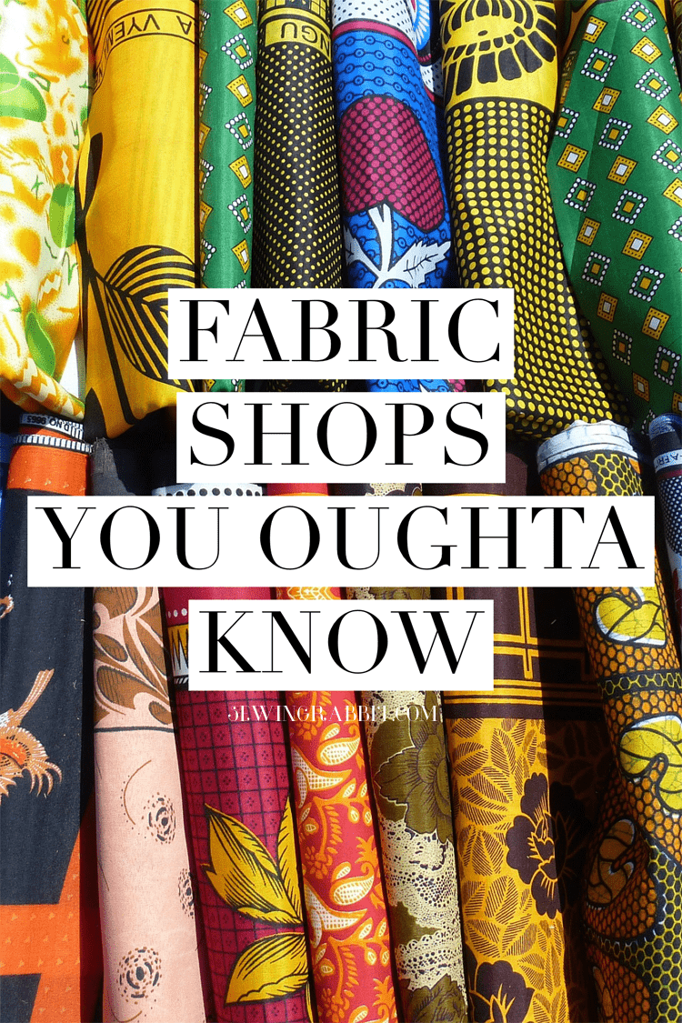 Some of our favorite on-line fabric shops to haunt