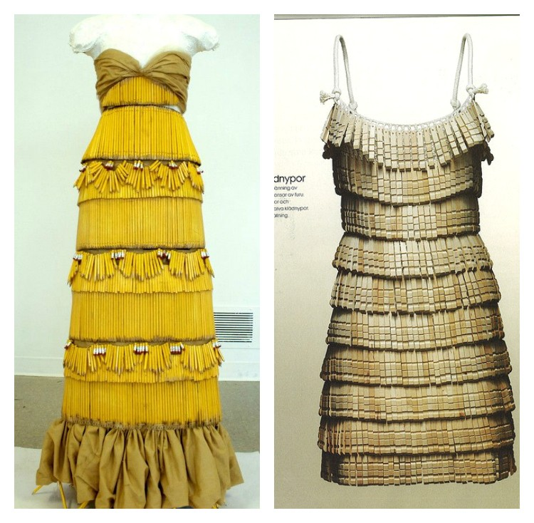 Pencil Dress · Clothespin Dress  sc 1 st  The Sewing Rabbit & Fashion made with Unusual Materials - The Sewing Rabbit