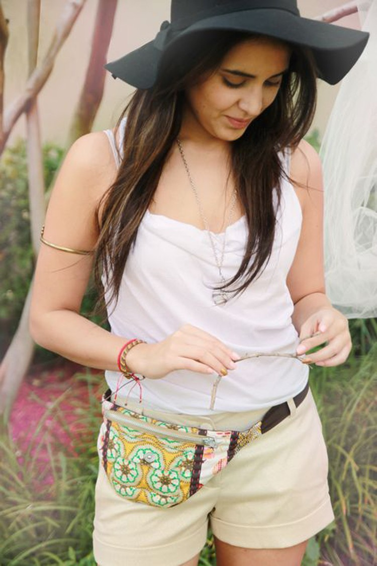 FANNY PACK DIY --- 24 DIYs to help you get ready for Summer Vacation.