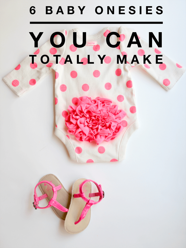 6 Baby Onesie Diys You Can Totally Make The Sewing Rabbit