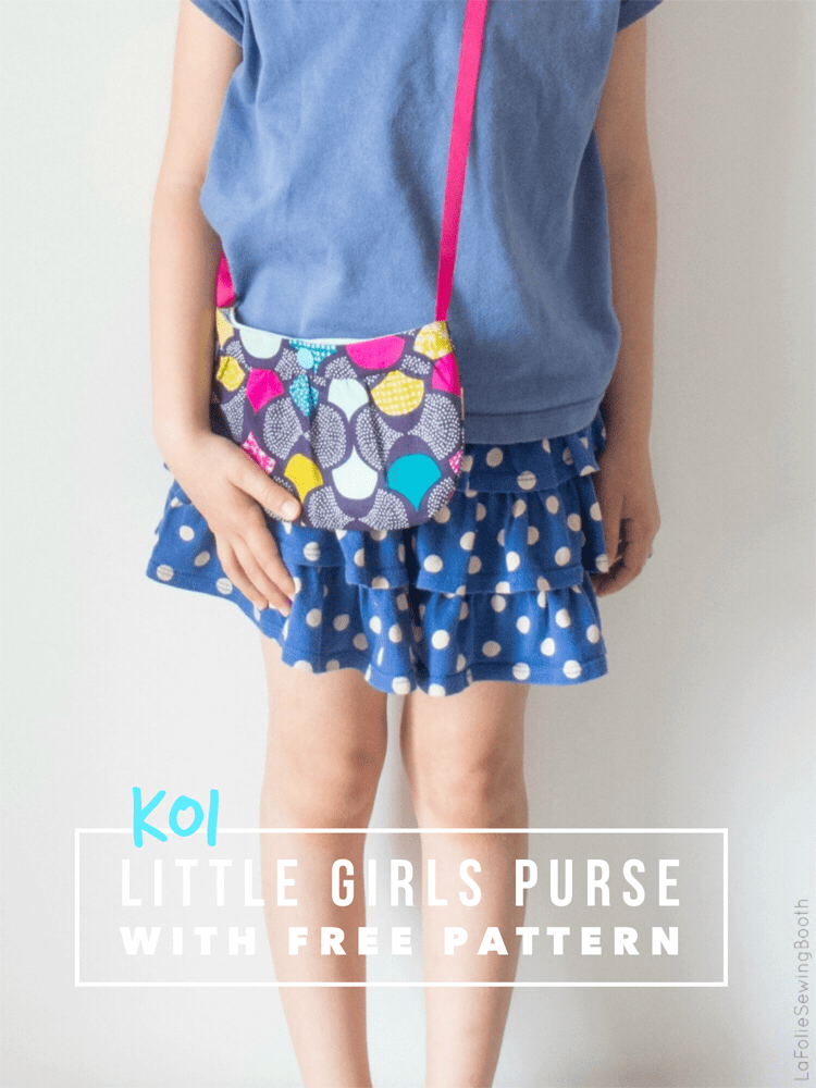 Little Girls Purse Pattern {free} - The Sewing Rabbit