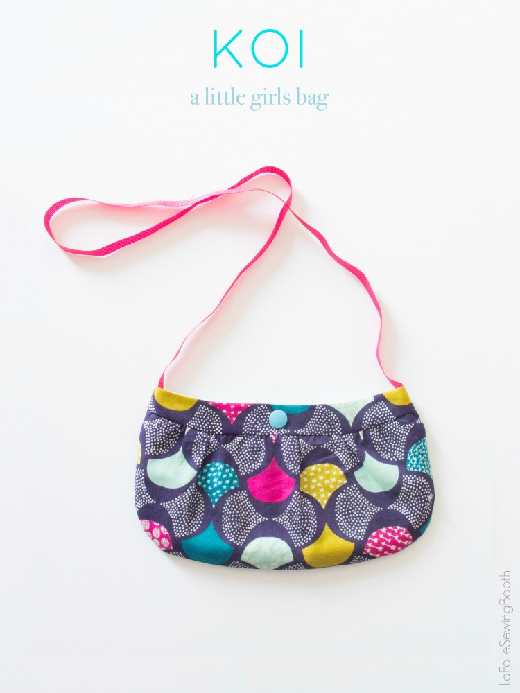 0c063484bb How to make a little Girls Purse, Free Pattern by Ines Melo
