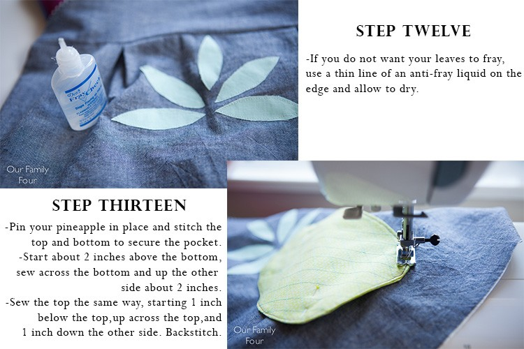 Pineapple Pocket Tutorial 8