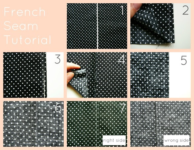 French Seams Tutorial, 11 sewing techniques round up