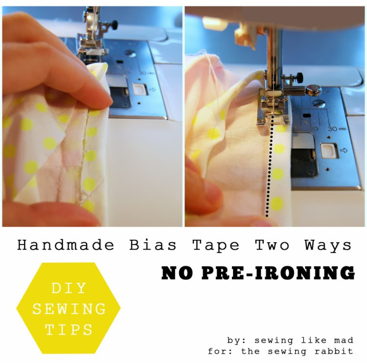 Homemade Bias Tape, 11 sewing techniques round up