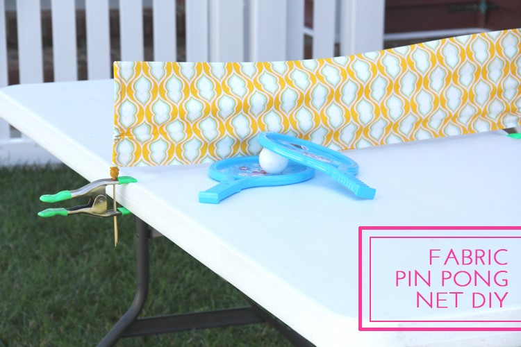 Ping Pong Net Diy The Sewing Rabbit