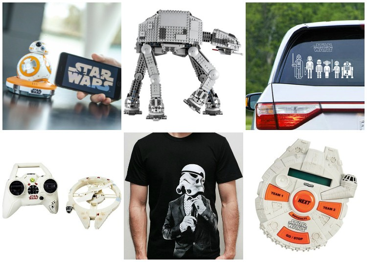 Star Wars Gift Guide  ||  find the perfect present for the Star Wars lover in your life this Christmas