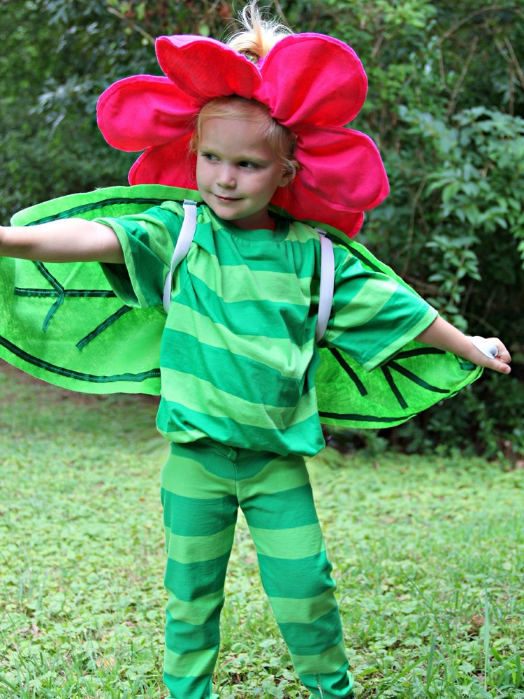 How to make a flower costume \\  Flower Costume DIY