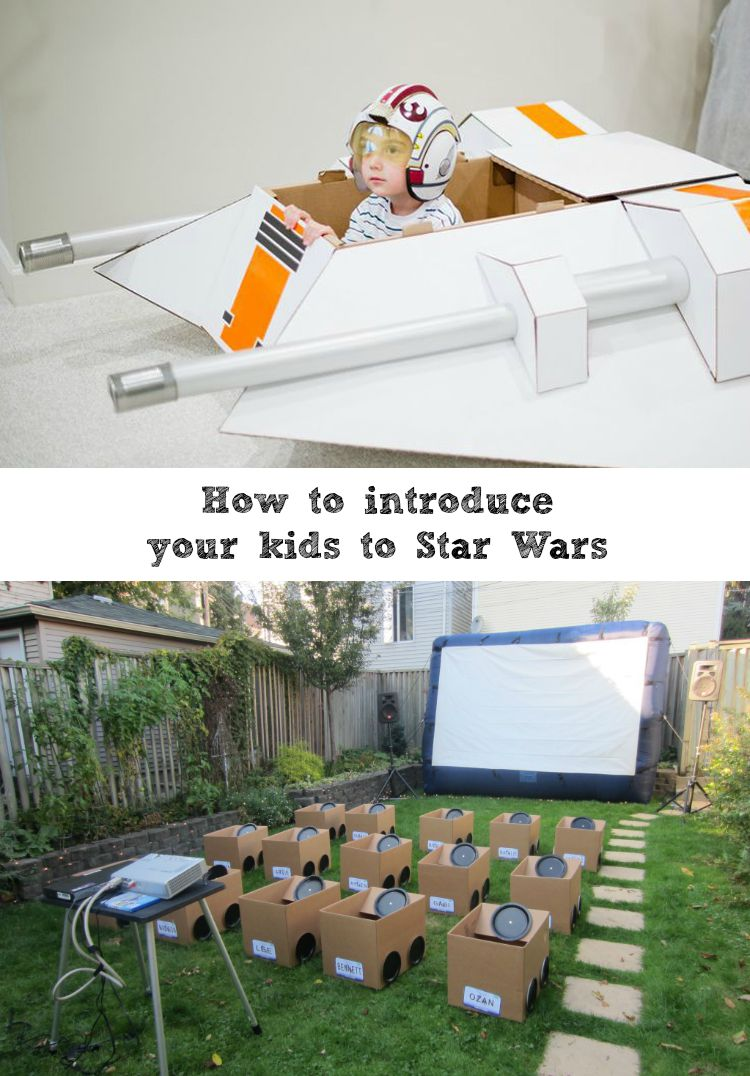 How to Introduce your kids to Star Wars - The Sewing Rabbit