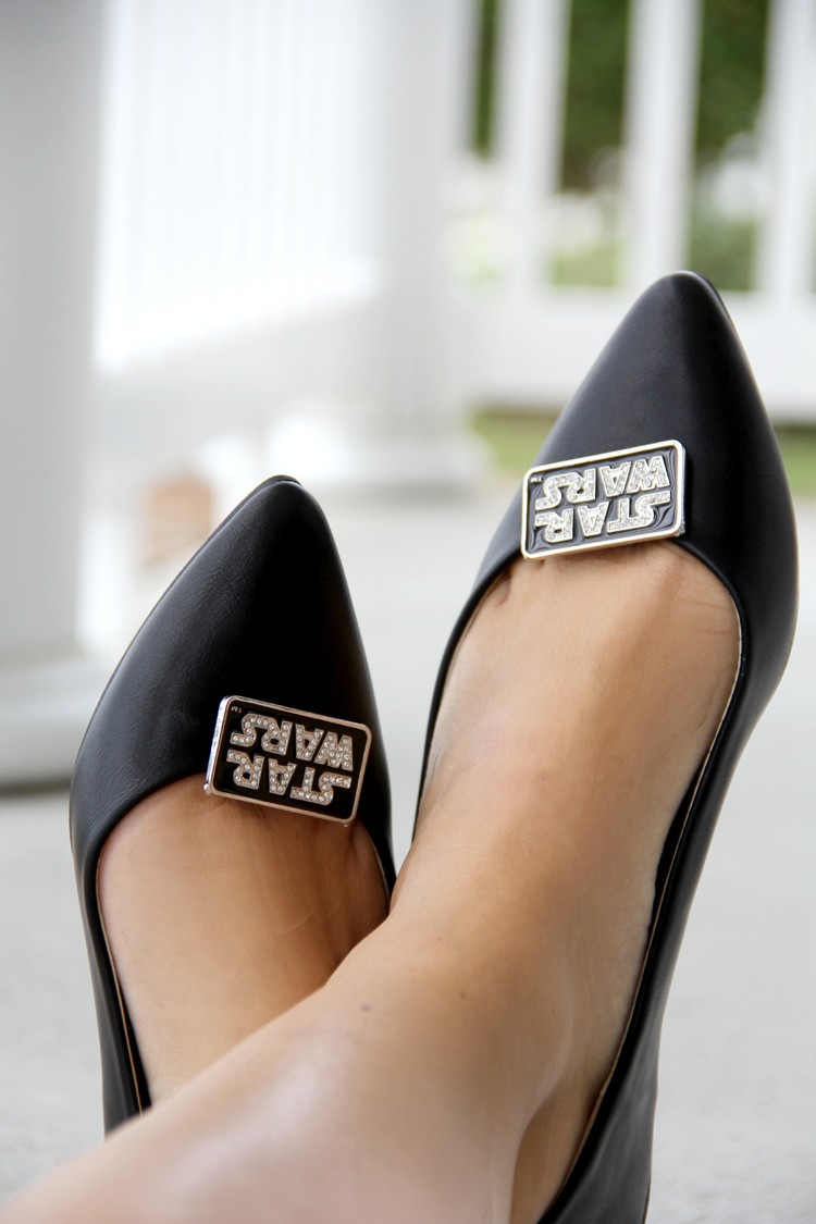 Make these: Star Wars Shoe Clips