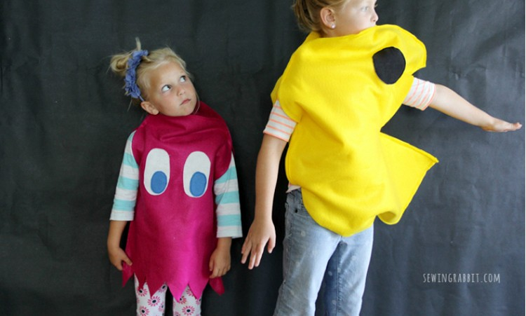 PacMan-Ghost-Collage  sc 1 st  The Sewing Rabbit & Best Halloween Costumes and Crafts to Make