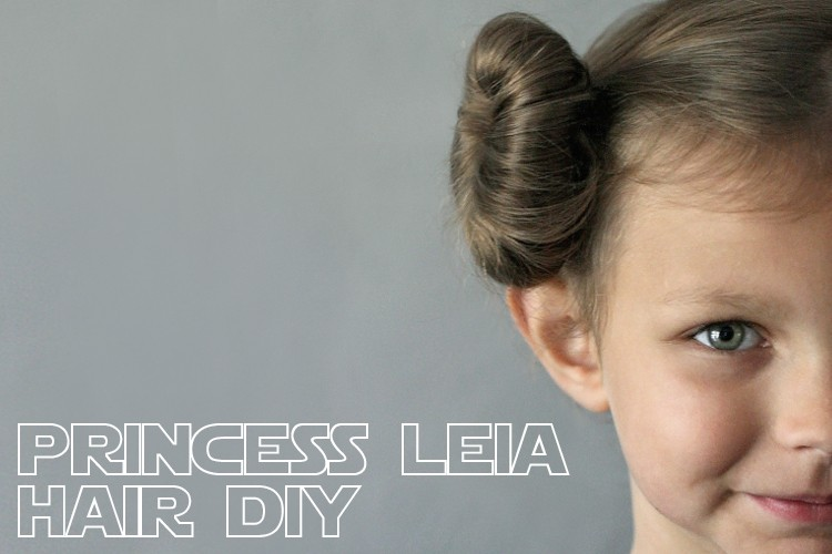 How to get perfect Princess Leia Hair Buns - Costume DIY