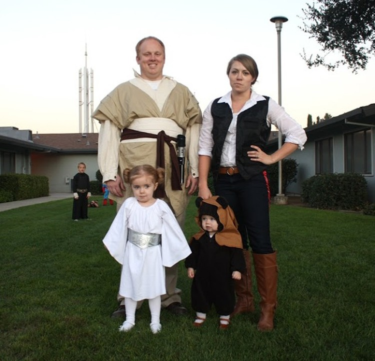 Star Wars family costume, Craftiness is not Optional