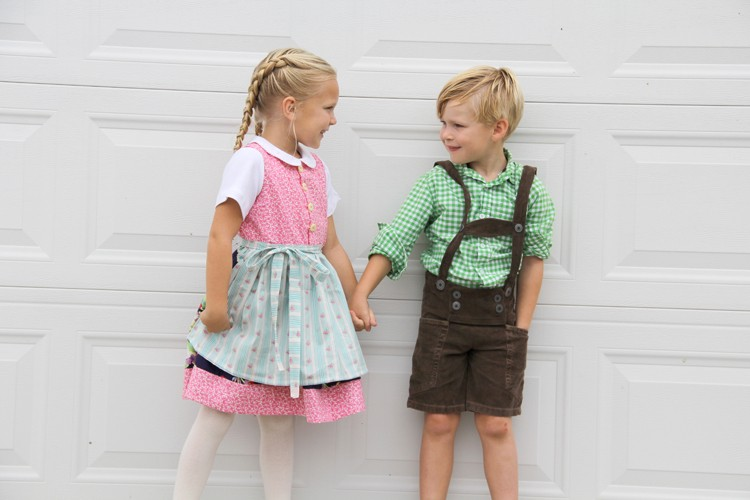 Dirndl and Lederhosen DIY - The Sewing Rabbit