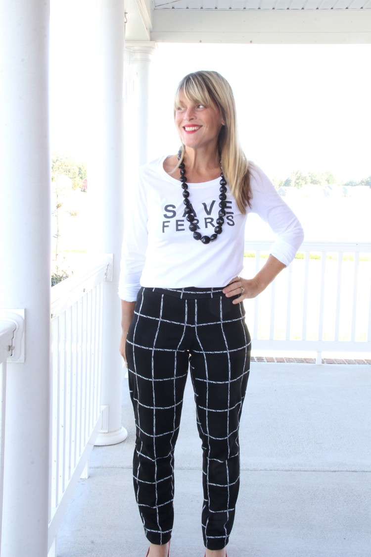 How to sew tapered pants || Easy knit pants DIY