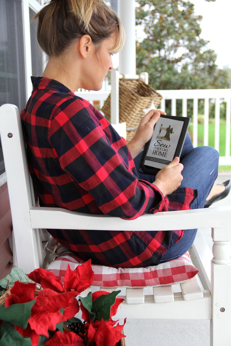 Sew Place Like Home - a sewing eBook for the holidays
