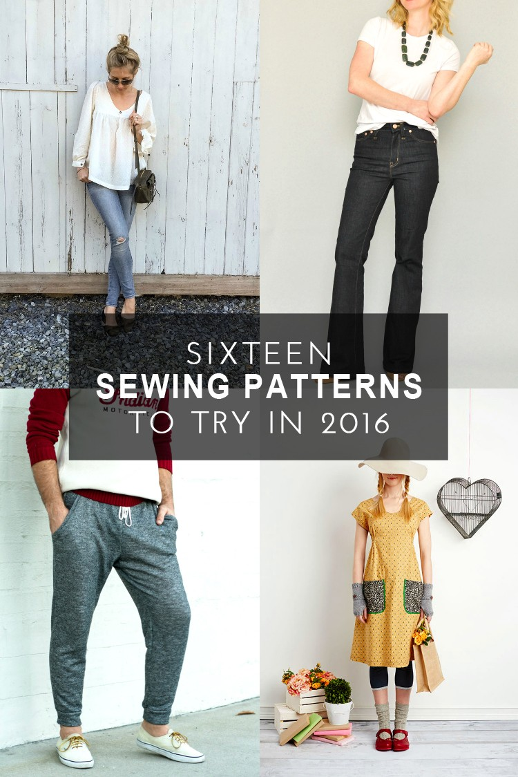 2016 modern sewing patterns