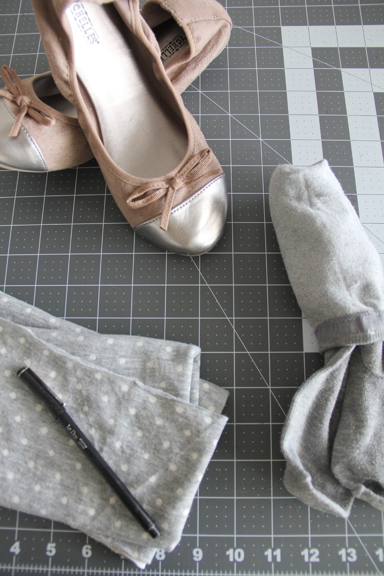 how to make your own shortie socks