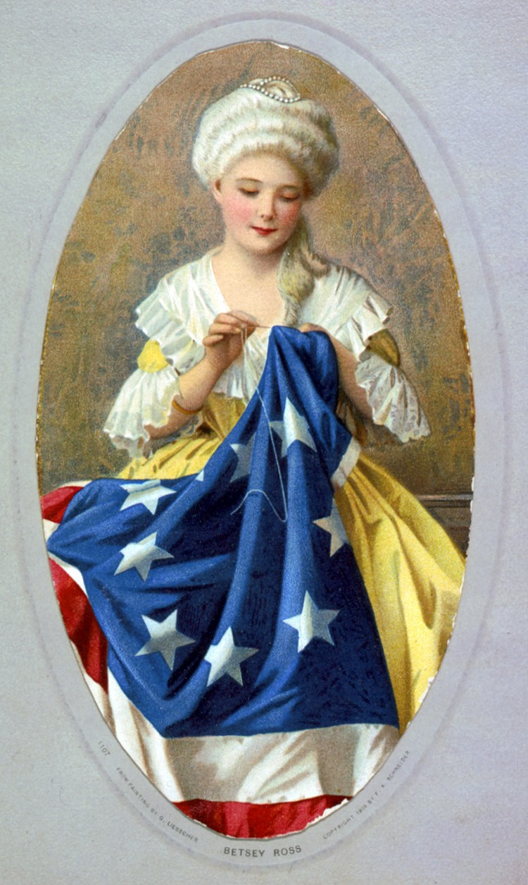 Homage to Betsy Ross - The Sewing Rabbit