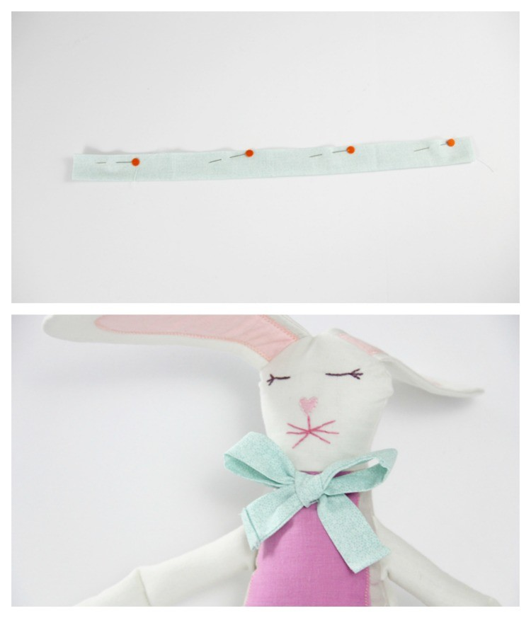 how to make a stuffed animal bunny rabbit - DIY bunny directions 6