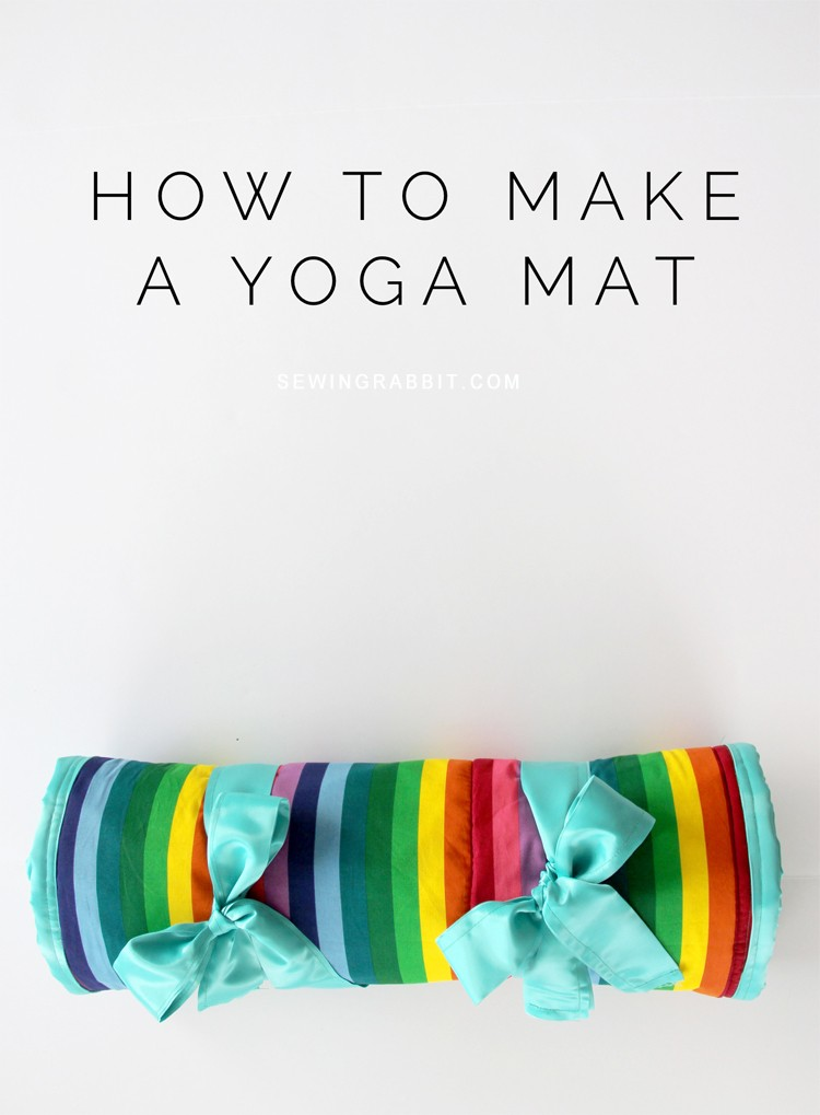 Sewing Rabbit yoga mat DIY