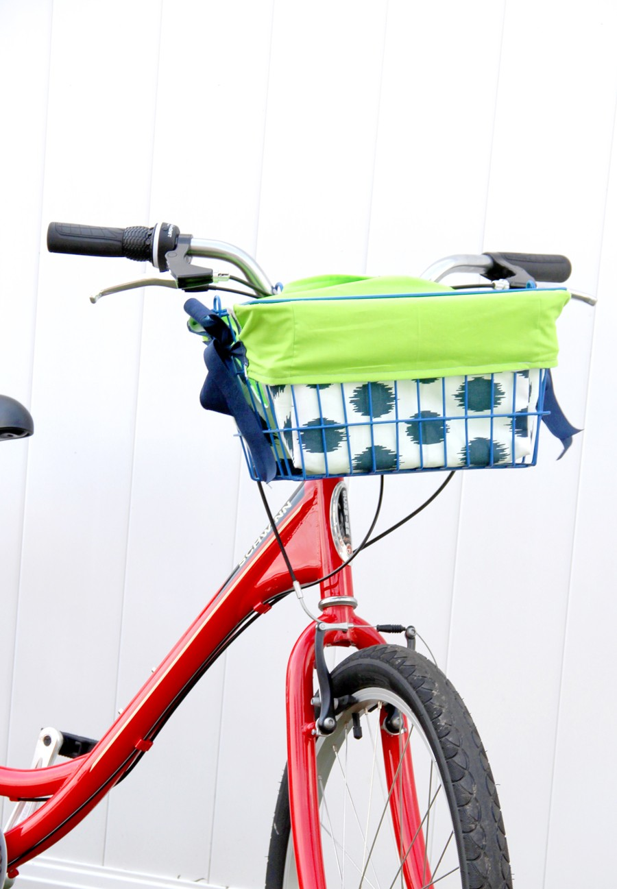 Bike Basket Liner DIY