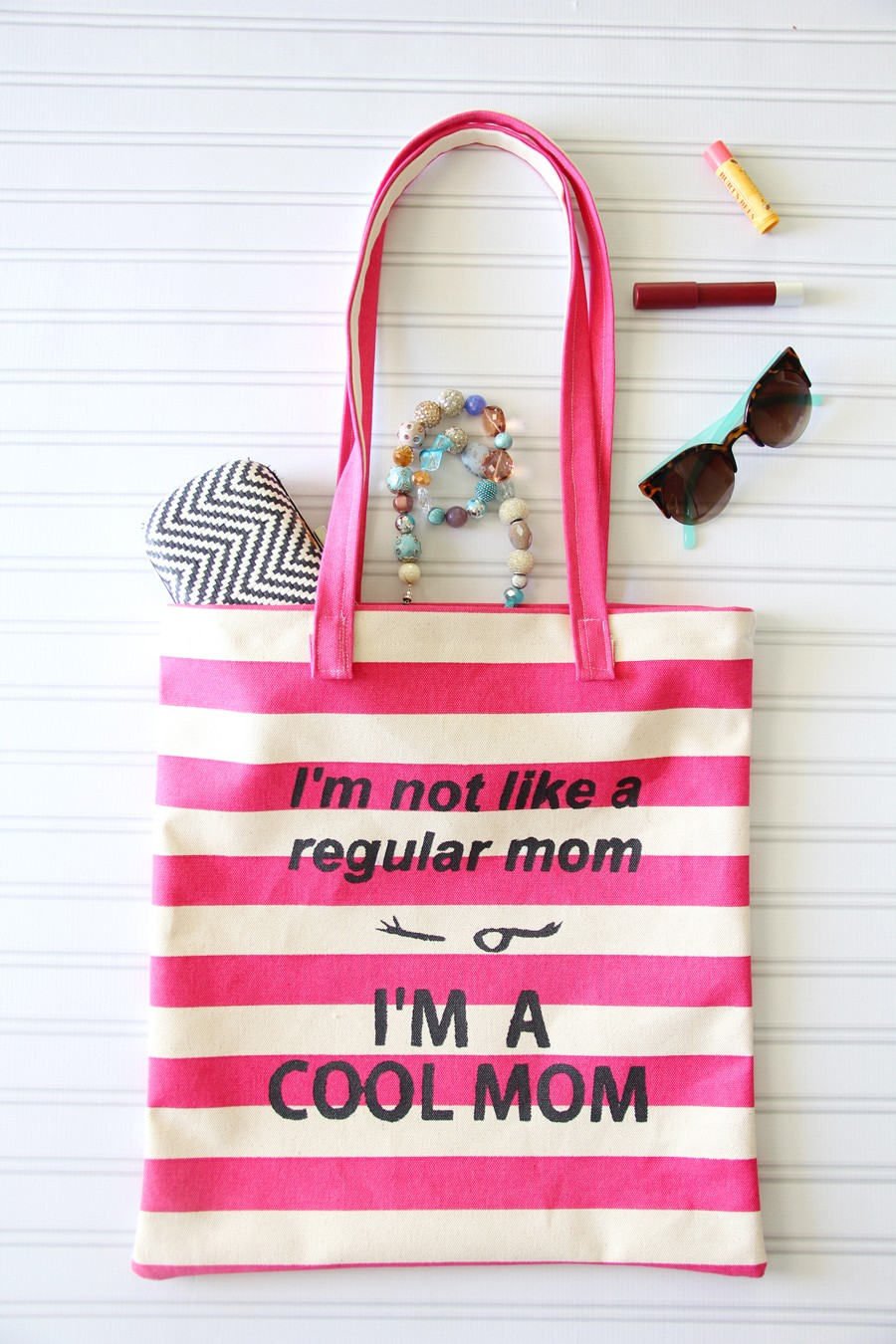 I'm not like a regular Mom....cheeky Mother's Day handmade gift idea, for the ultra 'cool' Mom